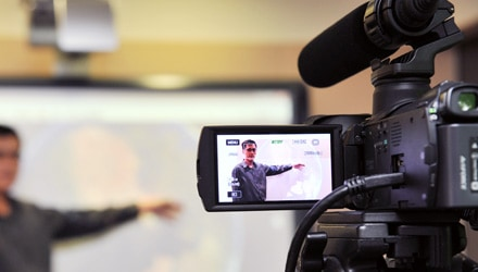Digital brolly recorded video classes