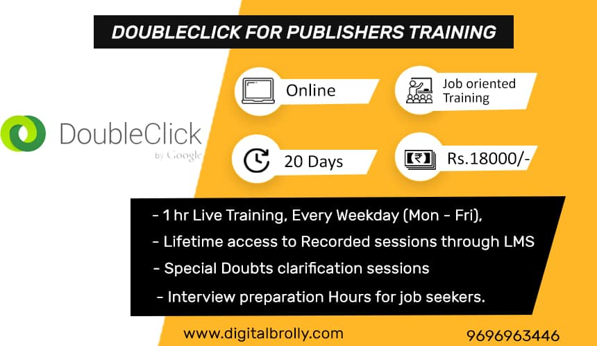 Doubleclick For Publishers Training